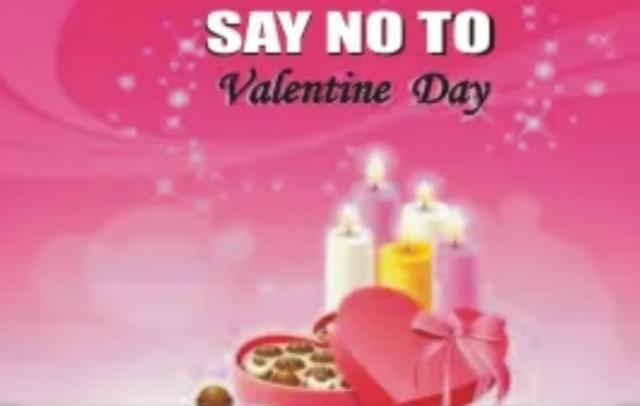 For Moslem, Say No to Valentine's Day!