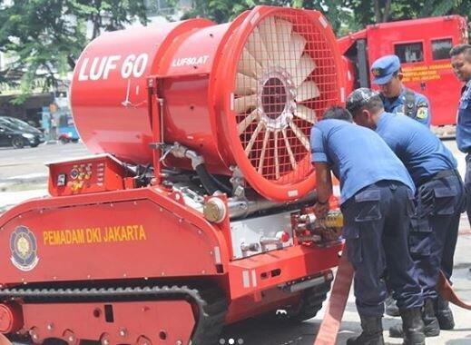 Anies Punya Robot Pemadam Kebakaran Seharga Rp8 M, Ini Kecanggihannya