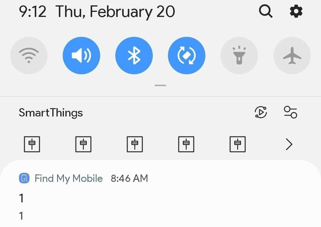 Pesan Misterius dari Samsung yang Bikin Saya Kaget