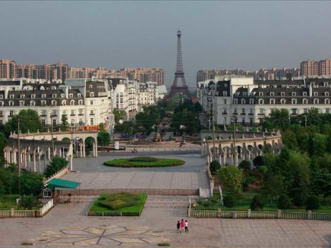 9 Kota Imitasi Terkemuka Di China