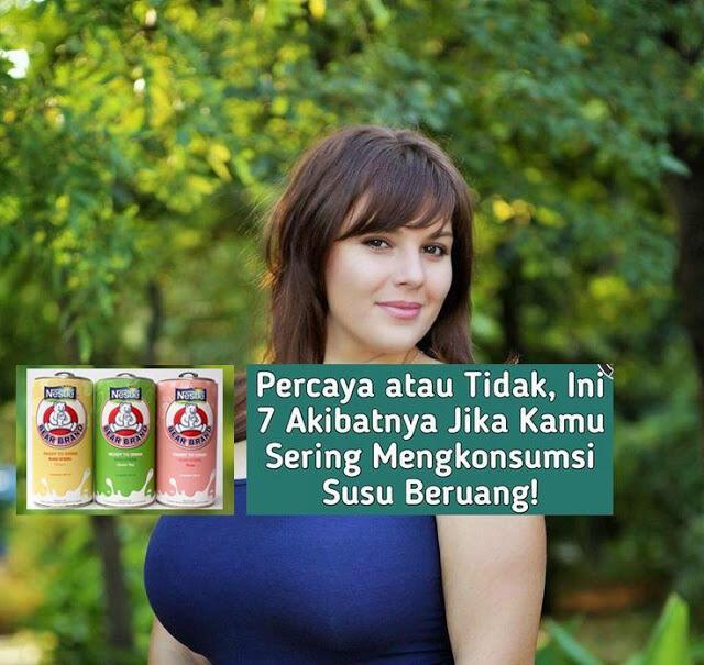Percaya atau Tidak, Ini 7 Akibatnya Jika Kamu Sering Mengkonsumsi Susu Beruang!