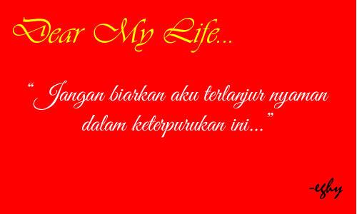 [LOVE LETTER 4] Dear Life...