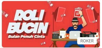 ROLi Bucin UGC Competition: Lomba Artikel, Video & Ilustrasi Berhadiah Saldo Link Aja