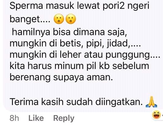 Meme-meme Lucu Berenang di Kolam Menyebabkan Kehamilan, Netizen Ngakak Jungkir Balik!