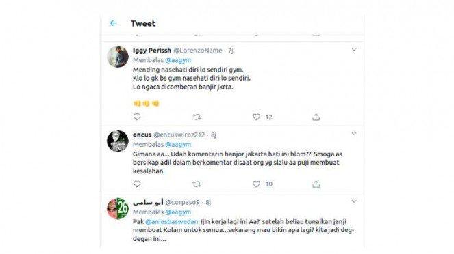 Fenomena Aneh, Aa Gym Selalu Diolok-olok saat Jakarta Banjir