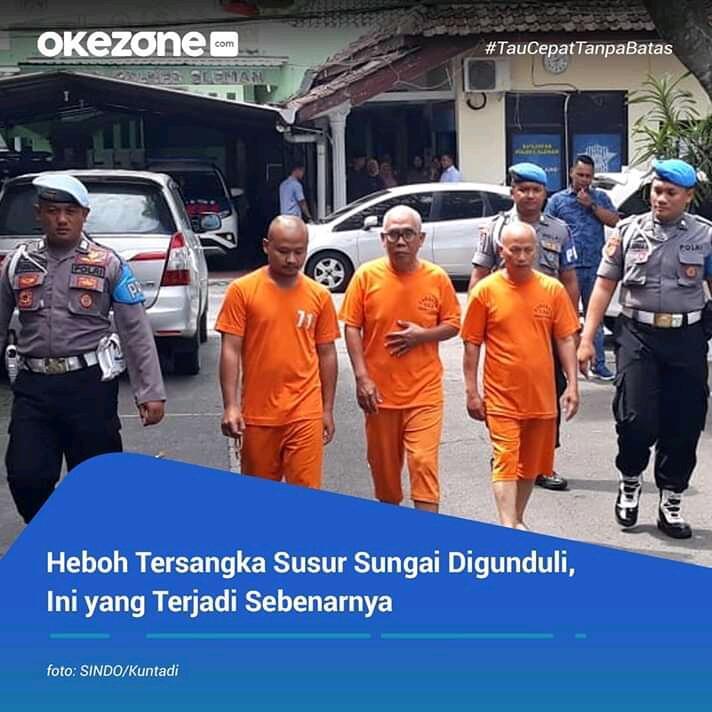 Heboh 3 Tersangka Pembina Pramuka Berambut Gundul, Jangan Suudzon Dulu