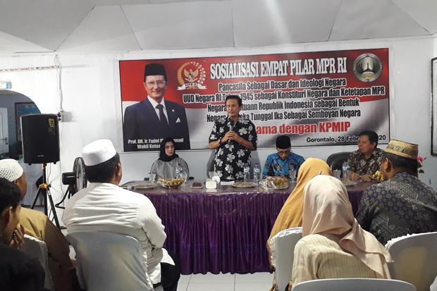 Pemahaman Masyarakat Indonesia terhadap Empat Pilar MPR Masih Rendah