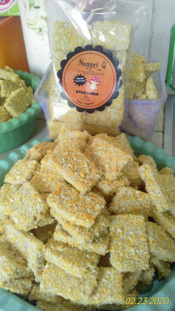 [COC Regional : Makanan Tradisional] Nugget Ayam Jamur Kekinian Khas'e Ngawi Ramah