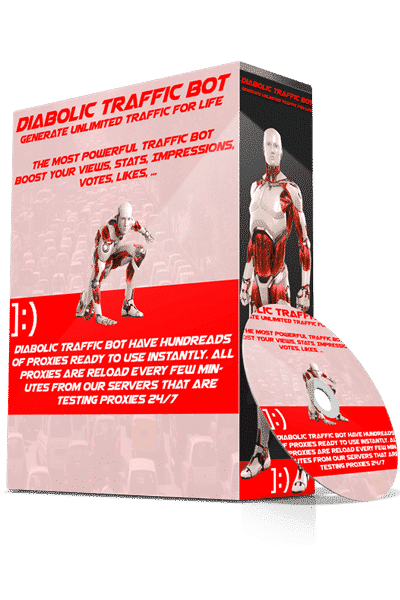 DIABOLIC TRAFFIC BOT V7.15 (LIFETIME PREMIUM) - UPDATED