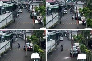 Ngeri! Detik-detik Ibu Hamil dan Janinnya Tewas Tertabrak Mobil di Palmerah