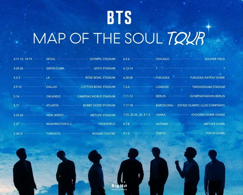 BTS Batalkan Konser 'Map Of The Soul Tour' karena Corona. Stay Safe Bangtan & ARMY!