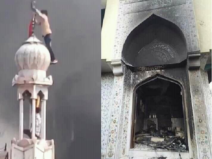 Terjadi Lagi Pembakaran Masjid, Merasa Tidak Aman.