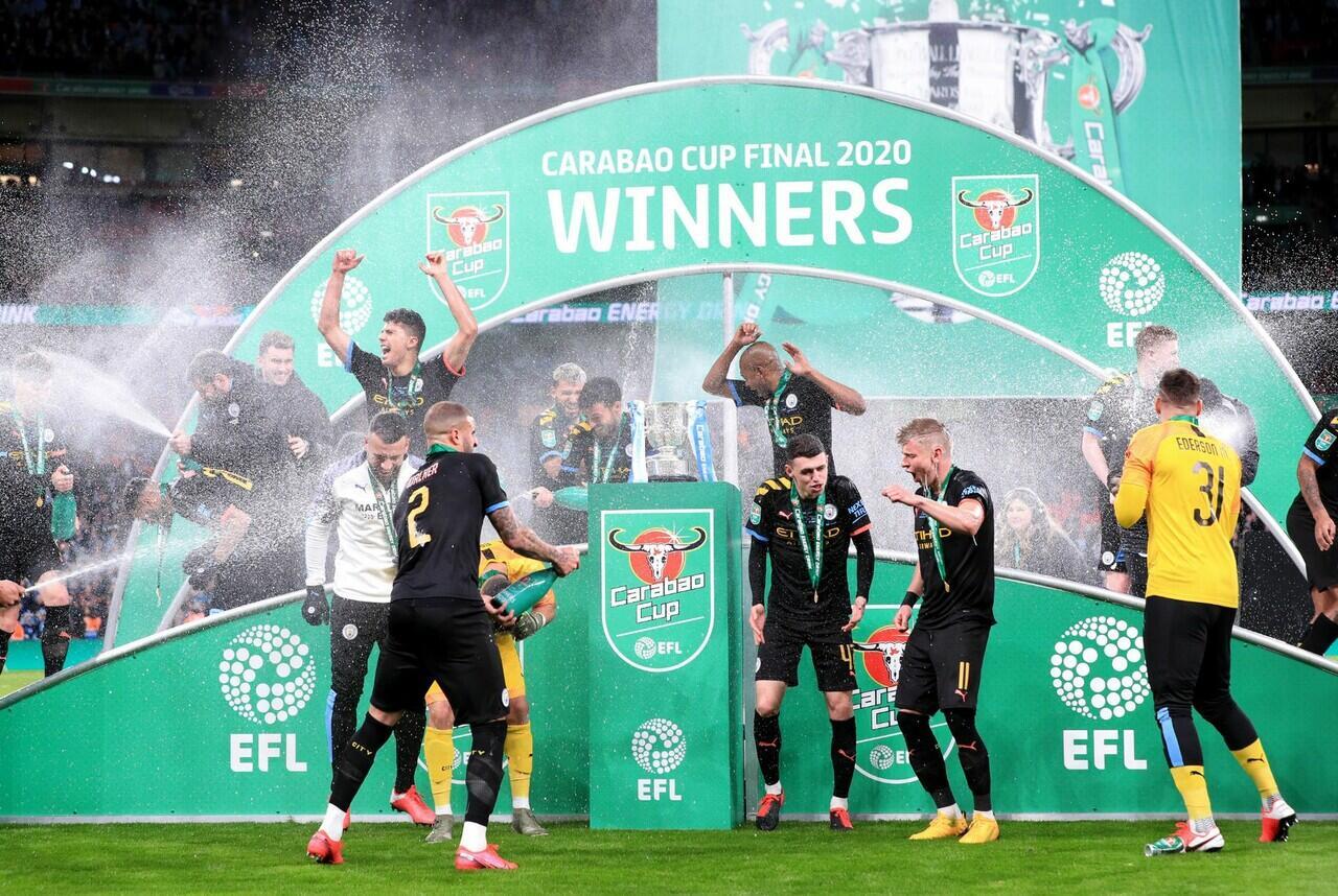 Menang di Carabou Cup 2020, Pep Guardiola Kejar Alex Ferguson dan Jose Mourinho