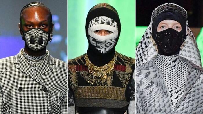 Paris Fashion Week Hadirkan Model Bermasker, Akibat Wabah Virus Corona Kah?