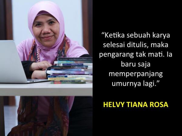 Helvy Tiana Rosa: Sastrawan Wanita Paling Berpengaruh di Dunia