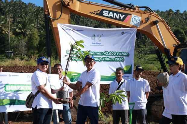 Rayakan HUT ke 42, Jasa Marga Tanam 42.000 Pohon se-Indonesia