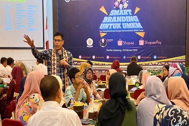 KAGAMA Dorong UMKM di Lampung Memperkuat Brand