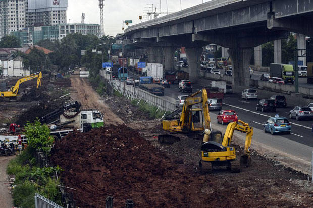 Ditengarai Jadi Penyebab Banjir, Proyek Kereta Cepat Dihentikan Sementara