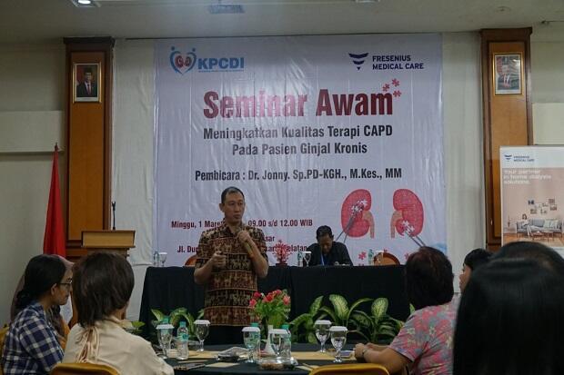 Dokter Kepresidenan RSPAD Sarankan Terapi CAPD bagi Pasien Gagal Ginjal