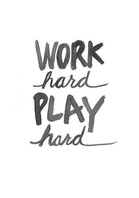 Work Hard, Play Hard, Istirahard, Shalat!