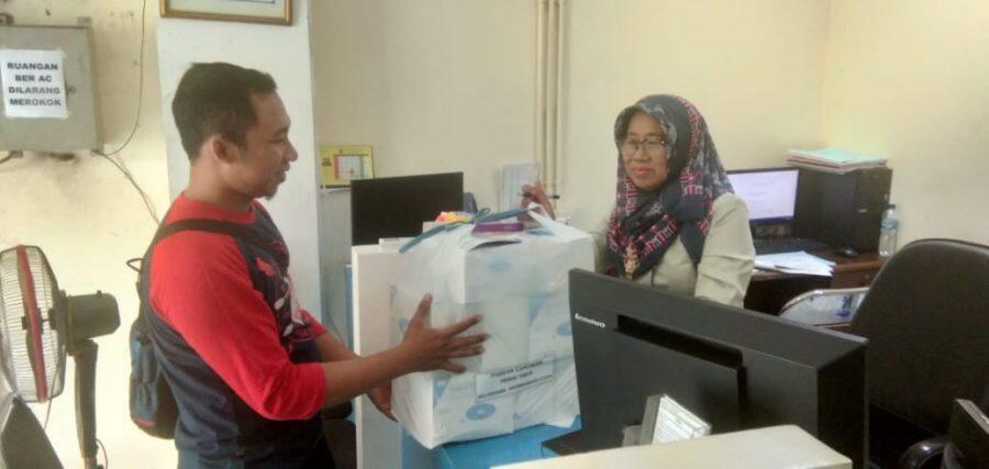 Pemkot Surabaya Sudah Bagikan Masker Gratis ke Warga Sejak Januari
