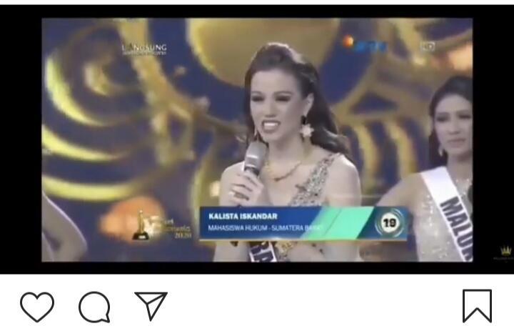 Miris! Seorang Finalis Putri Indonesia 2020 Tak Hafal Pancasila, Bagaimana Menurutmu?