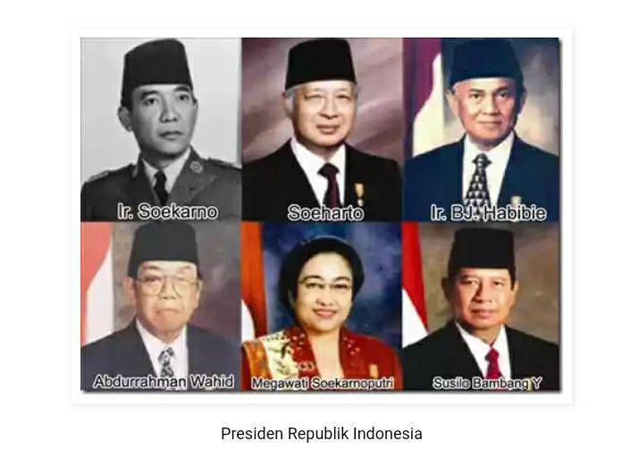 Saatnya Melek Sejarah, Inilah Presiden Tidak Dikenali Dan Terlupakan, Jilid 1 Gan!