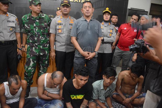 Tim Gabungan TNI-Polri Amankan 7 Orang Pemakai Narkoba