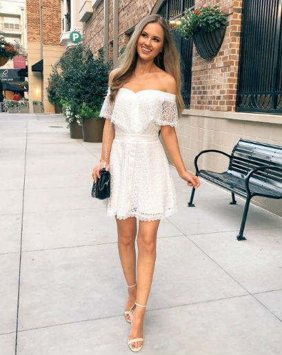 Inspirasi Outfit yang Cocok untuk Bridal Shower, Serba Putih!