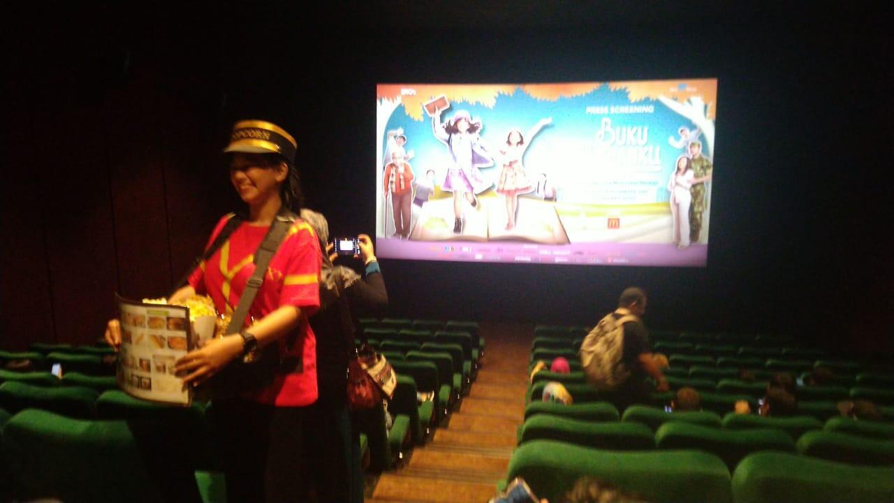 "Launching Perdana Film Bioskop Keluarga ""BUKU HARIANKU"" (Tayang 12 Maret 2020)"