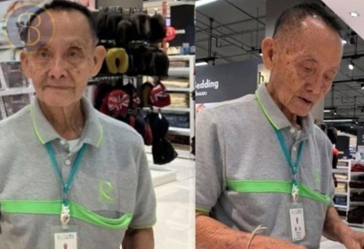 Viral... Kisah haru mantan CEO 81 tahun yang kini jadi sales di MALL