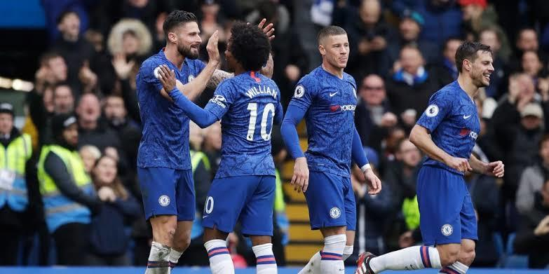 Chelsea Vs Everton: The Blues Pesta Gol Di Stamford Bridge