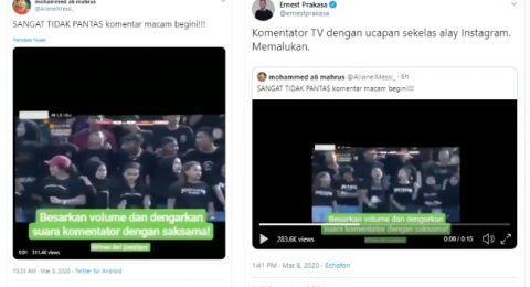 Komentar Presenter Olahraga Berkata Mesum, Duh Jadi Buruan Netizen Dah