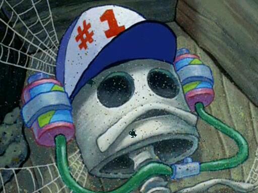 Smitty Werben Man Jensen dalam Kartun Spongebob Ternyata Ada di Dunia Nyata!