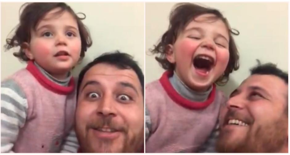 Bocah yang Diajarkan Tertawa Tiap Kali Dengar Suara Bom Dibantu Pindah ke Turki