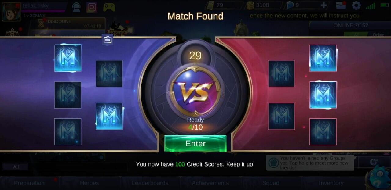 Jenis Matchmaking di Mobile legends