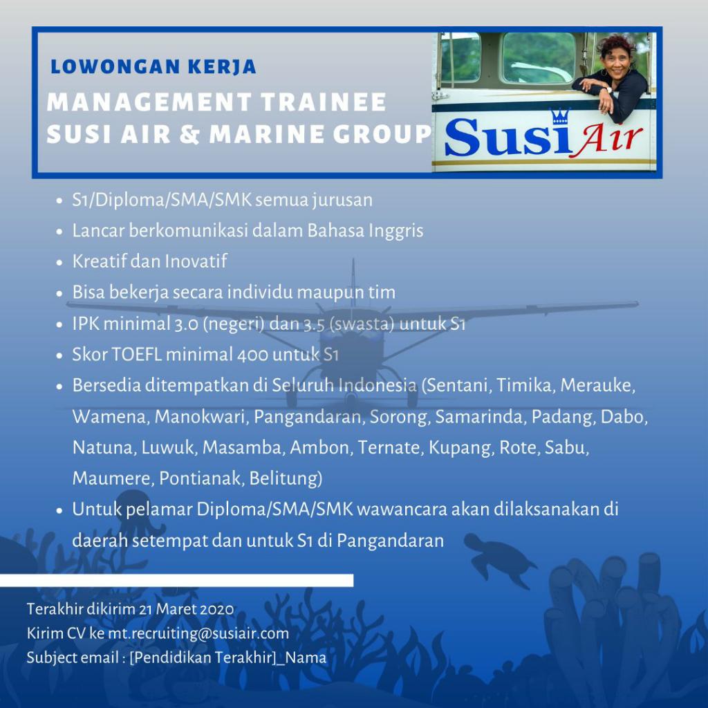 Interview di Pangandaran, Perusahaan Susi Pudjiastuti Buka Lowongan Kerja