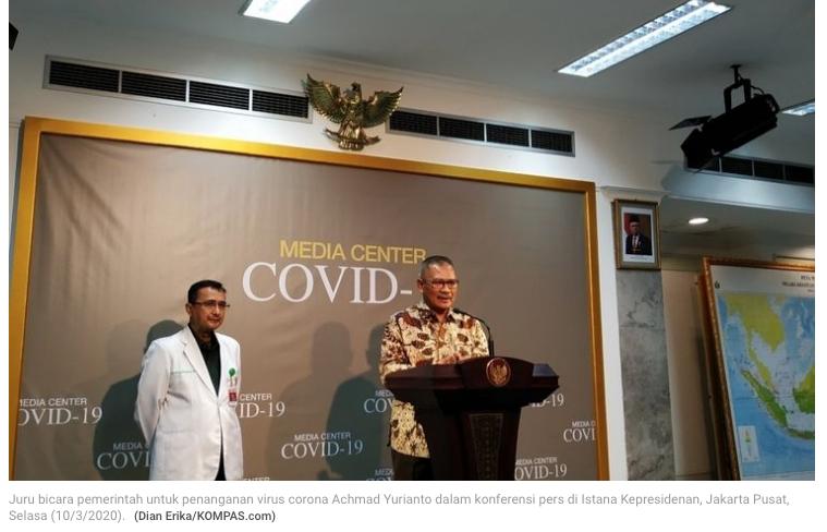 Pasien Positif Virus Corona Bertambah, Kini Totalnya Ada 27 Orang