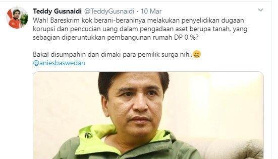 Periksa Anak Buah Anies Diduga Korupsi, PKPI: Bakal Disumpahi Pemilik Surga
