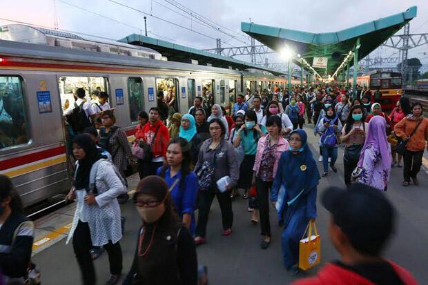 Ini Reaksi PT KCI Soal KRL Bogor-Jakarta Kota Rentan Penyebaran Corona