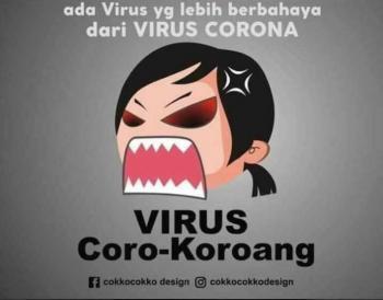 Virus Mematikan Dijadikan Guyonan, Berikut Plesetan Corona yang Viral di MedSos!
