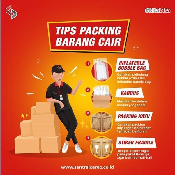 Standar Packing Jasa Pengiriman Barang Melalui Kargo