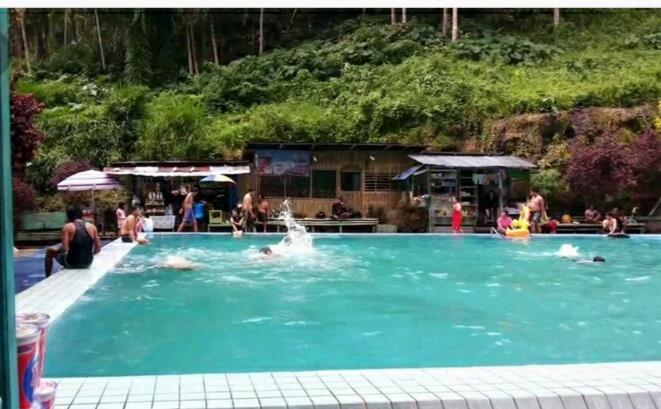 [ COC Regional : Lokasi Wisata ] Objek Wisata Suban Air Panas Rejang Lebong,Bengkulu.