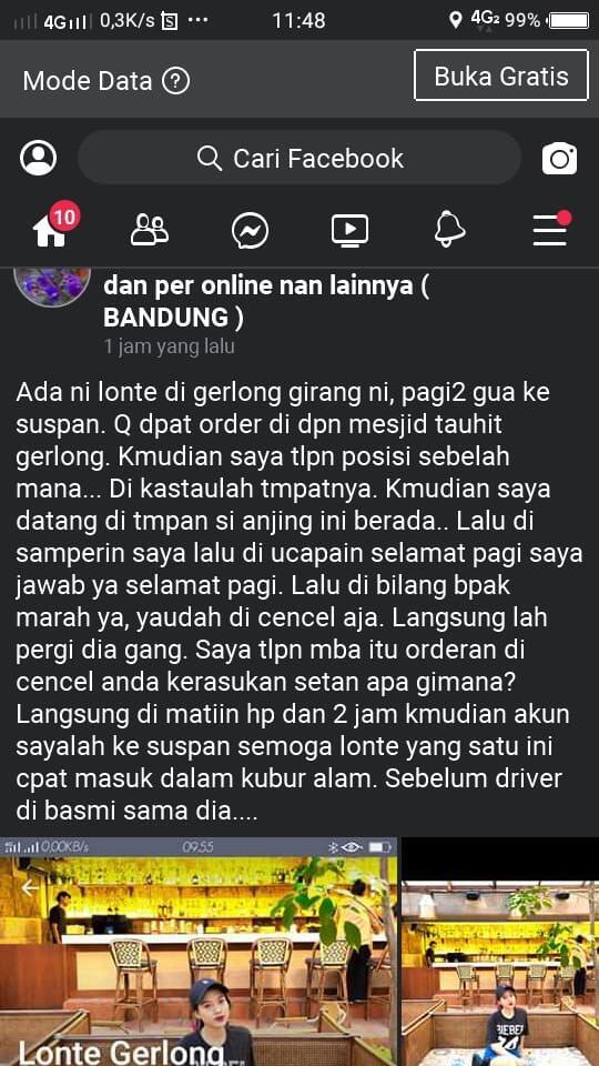 Keterlaluan! Driver Ojol Ini Mengancam Ingin Memperkosa Penumpangnya