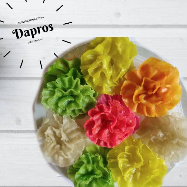 [COC Regional:Makanan Tradisional]Dapros, Imajinasi Pecinta Bunga Ros dalam Kue