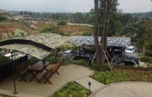 Basecamp, Restoran Nuansa Militer Milik Dewi Persik di Puncak Bogor