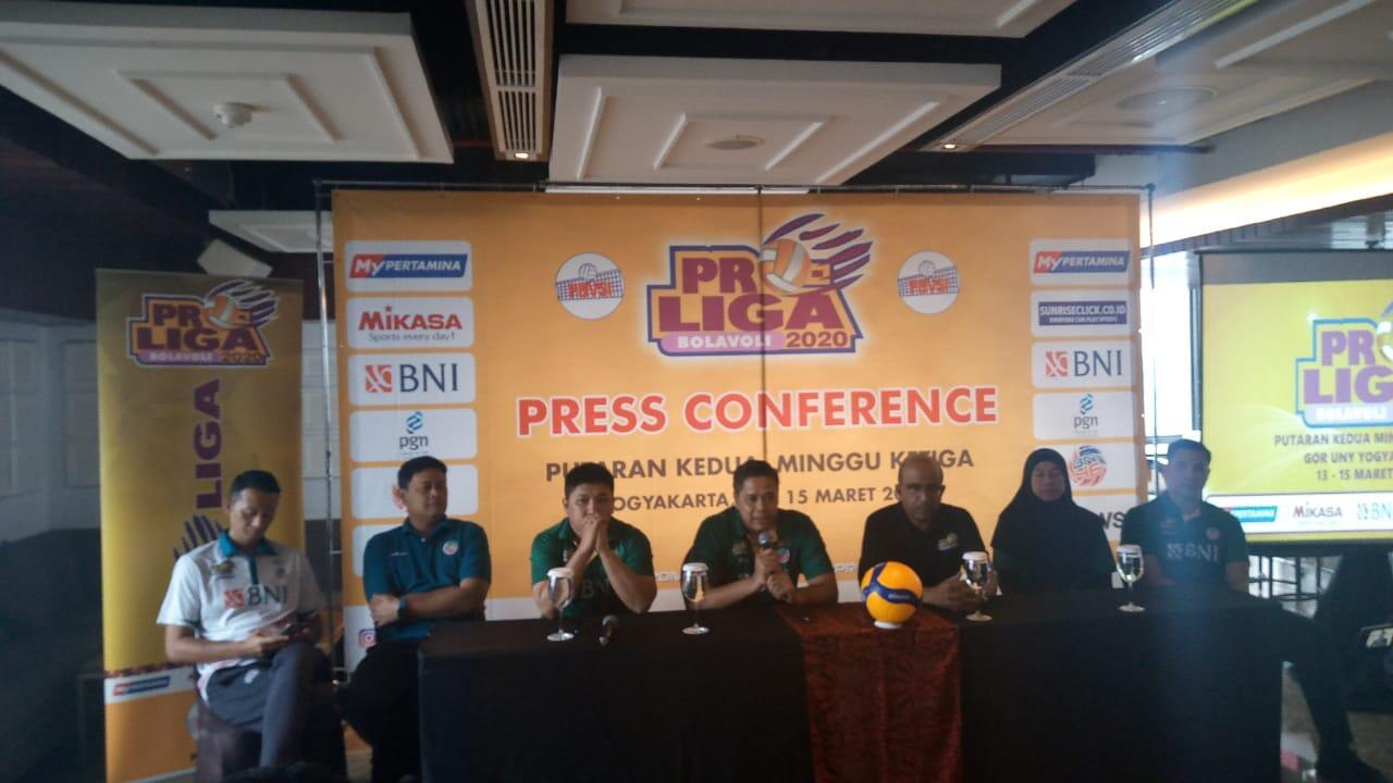 Proliga 2020, Perebutan Juara Putaran Kedua di Yogyakarta