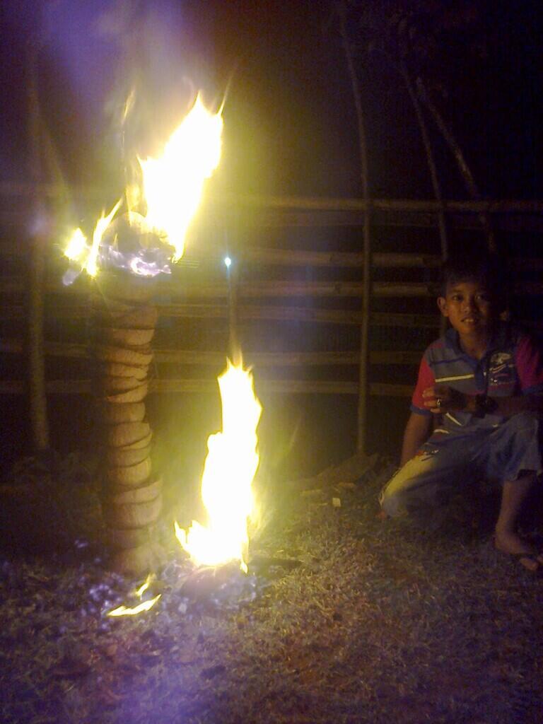 [ COC Regional : Kebudayaan ] Tradisi Nujuhlikur yang Nyaris Punah di Bengkulu