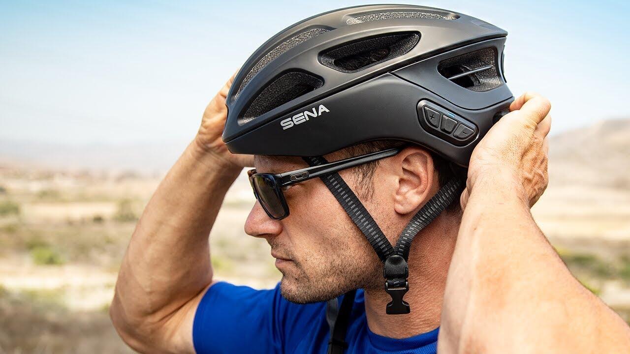 Helm Sepeda Interkom Bluetooth SENA Bisa Nyambung Lebih dari 4 Orang
