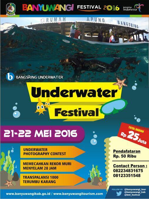 Apa itu Banyuwangi Underwater Festival?